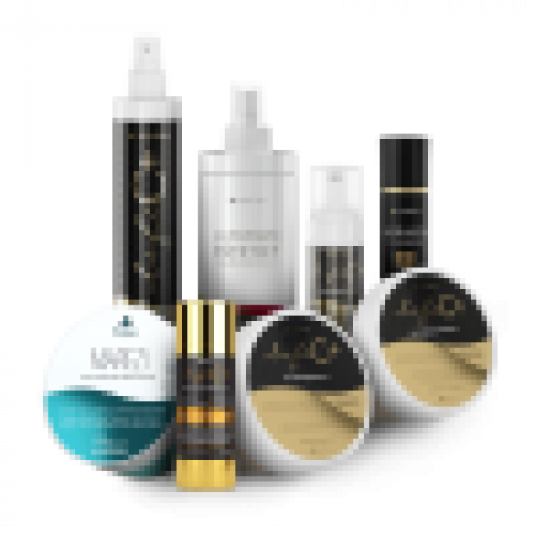 Foto do cosmético KIT ESTETICISTA PREMIUM (LIFE C+ NANO SABONETE MOUSSE PROFESSIONAL 170ML, LIFE C+ NANO TÔNICO 300ML, ULTIMATE ESTETIC+ SOLUÇÃO ULTRAEMOLIENTE 500ML, LIFE C+ NANO PEELING ABRASIVO C 200G, MAREZI NANO MÁSCARA HIDROCALMANTE 200G, LIFE C+ NANO MÁSCARA ILUMINADORA 200G, HIDRASOL FOTOPROTETOR FACIAL FPS 3
